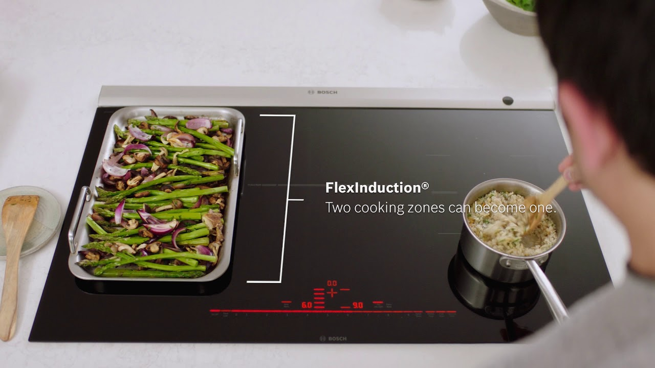 Precision At Your Fingertips With Bosch Induction Cooktops