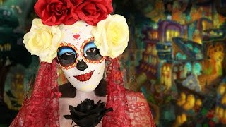 The Book Of Life: La Muerte Mask ♥ DIY