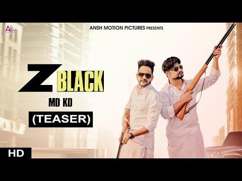 Z BLACK (Teaser) MD KD   Divya Jangid, Ghanu Music   New Haryanvi Songs Haryanavi 2018   AMP
