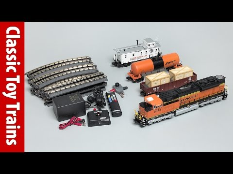 MTH O gauge modern freight set, a Classic Toy Trains review