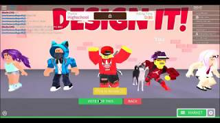 ROBLOX DESIGN IT | HAO!!!
