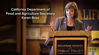 CA Agriculture Secretary Karen Ross