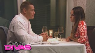 nikki finally tells john cena about dolph s advances total divas preview clip jan 19 2016