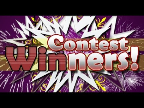 Giveaway winners & epic poetry slam for subs!