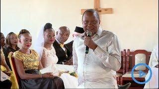 Senator Irungu Kang'ata finally weds Mary Wambui