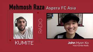 [Aspera Asia] Mehmosh Raza On Terrorism, Bad Weight Cut, Featherweight Title Clash And More
