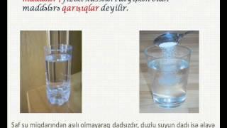 Kimya   saf maddələr və qarışıqlar