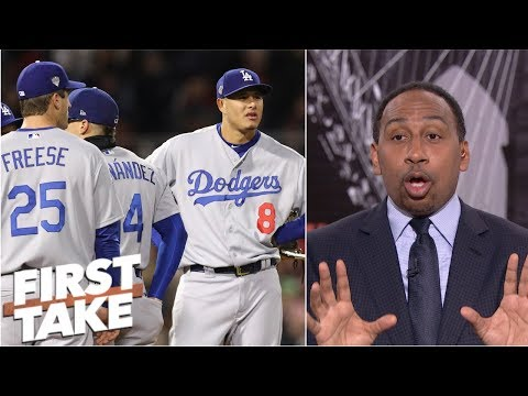 Stephen A.: Red Sox 2-0 World Series lead means 'it's over' for Dodgers | First Take