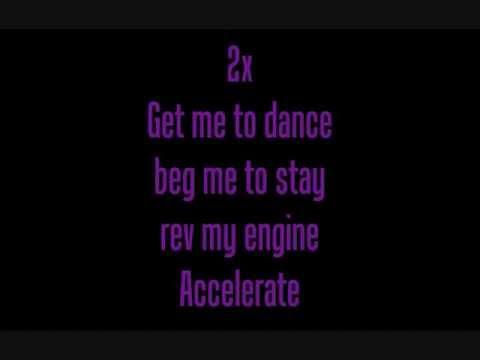 Courtney Jenaé - Accelerate ~ Lyrics