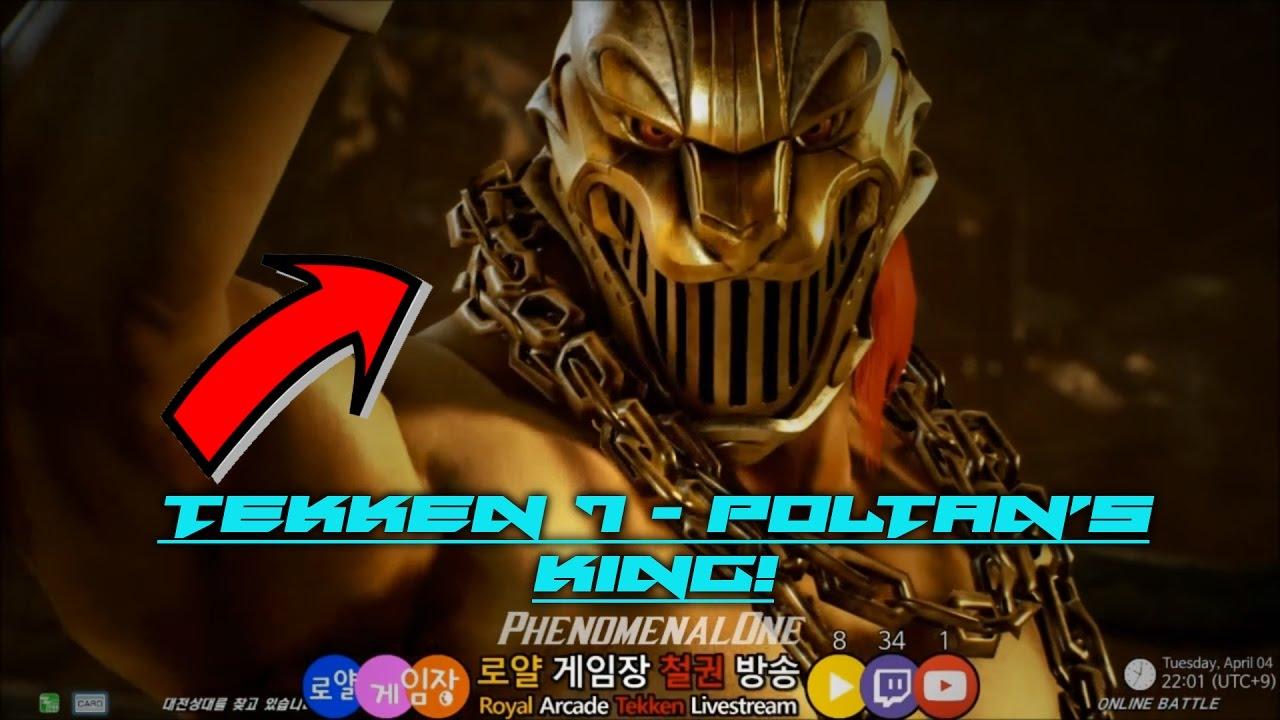 Tekken 7 King Glorious Mask Vs Leo Steve 60fps Youtube