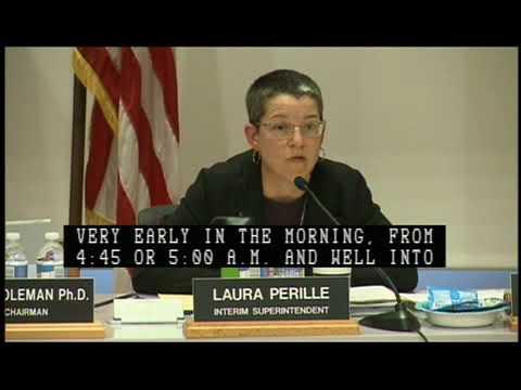 Boston School Committee Meeting 9-12-18