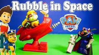 PAW PATROL Nickelodeon Paw Patrol Rubble in Space a Toy Story & Paw Patrol Video Parody