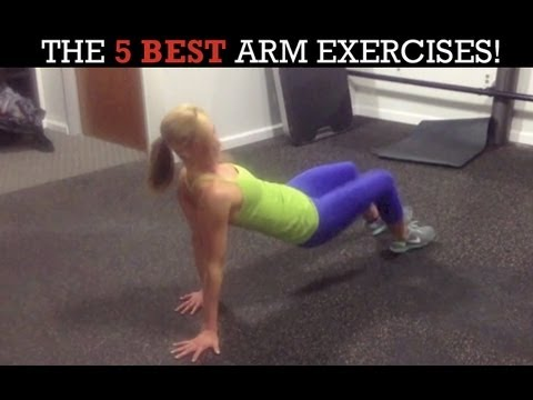 Sexy, Toned Arms Workout for Women! (5 HARDEST Arm Exercises Ever!)