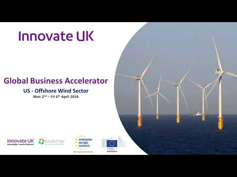 Global Business Accelerator Programme - US Offshore Wind (Day 1- Gronwind Ltd)