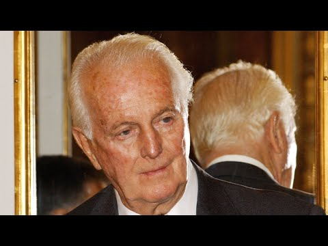 French Fashion Designer Hubert De Givenchy, 91, Is Dead