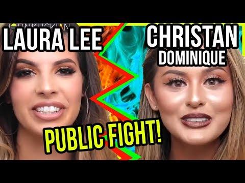 LAURA LEE & CHRISTEN DOMINIQUE MAKEUP BEAUTY DRAMA