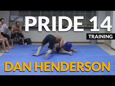 Dan Henderson PRIDE training (Tokyo, Japan 2003)