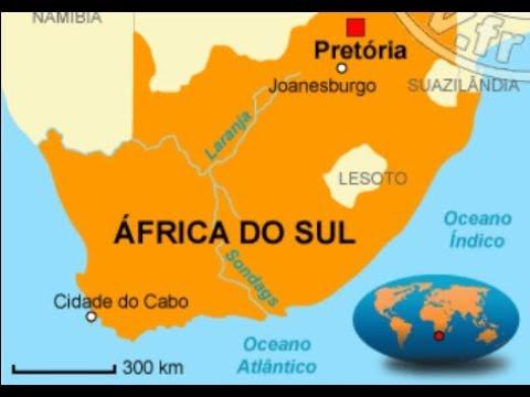 ASMR BINAURAL 🎧 Mapa da ÁFRICA DO SUL | Sussurro - Whisper | Português BR