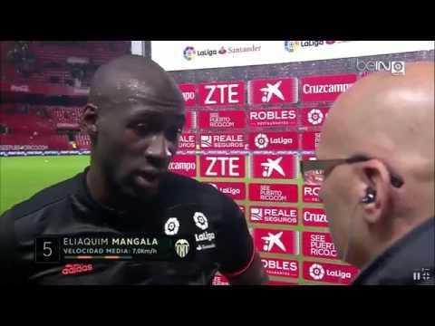 "Mangala: ""Tuvimos mala suerte con el primer gol..."" #beINLaLiga"