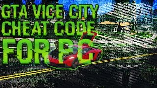 Gta Vice City Cheat Code For Pc