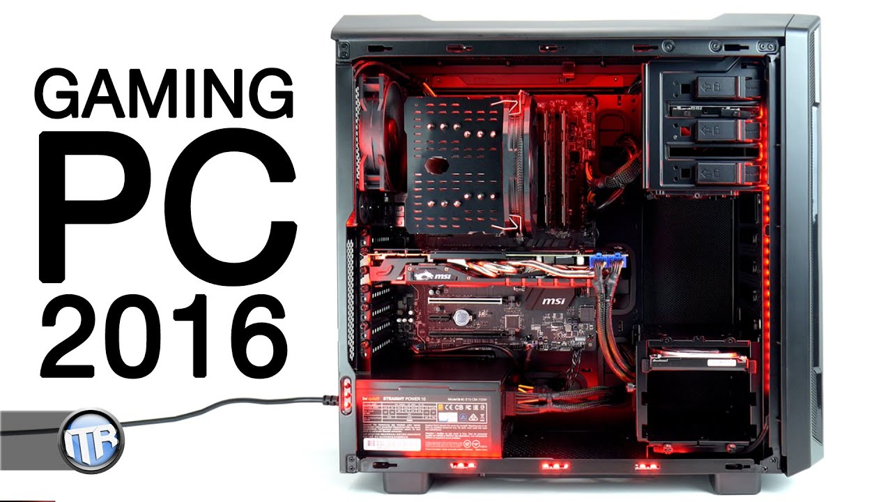 Gaming pc 2016 welche hardware benchmarks spiele for Pc retouche photo 2016