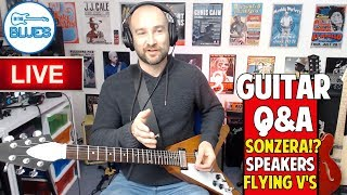 Copyright on YouTube, Gibson Flying V, and More! - Guitar Q&A May 13, 2019