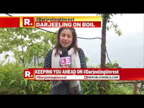 Darjeeling unrest continues - June 23, 2017