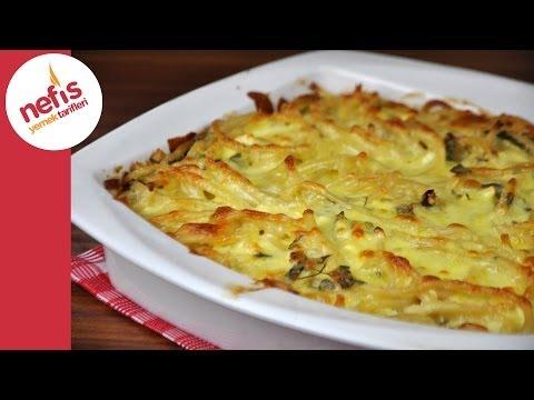 fırında peynirli makarna tarifi  nefis yemek tarifleri