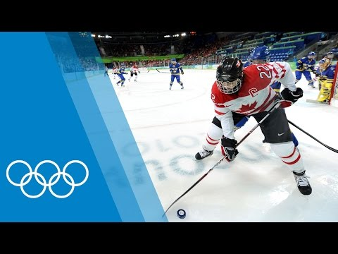 The Ideal Ice Hockey Player with Hayley Wickenheiser [CAN]