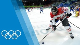 Anatomy of an Ice Hockey Player with Hayley Wickenheiser [CAN]