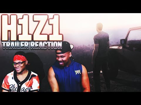 2 BROTHERS REACT - H1Z1 Playstation 4 annoucement Trailer - Tre and J