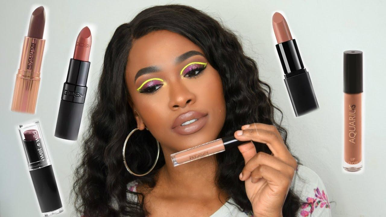 Found: 10 Best Fall Lipsticks for Dark Skin Tones   Byrdie