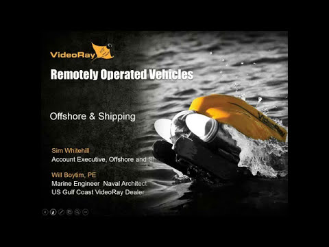 VideoRay Offshore ROVs