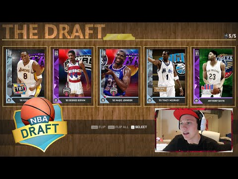 THE DRAFT! TIME TO WIN THIS! - NBA 2K16