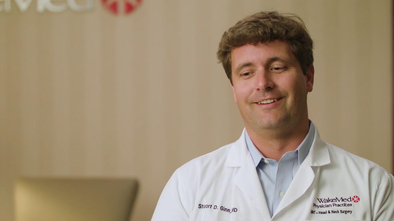Dr  Stuart Ginn | WakeMed Physician Practices - ENT