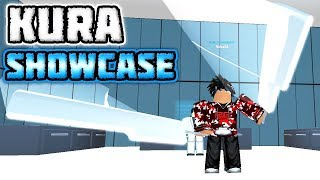 NEW Kura Double-Sword Quinque Review/Showcase in Ro-Ghoul! | Roblox