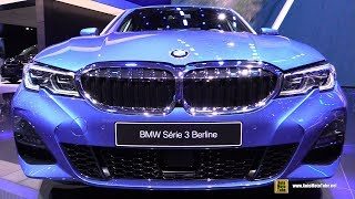 2019 BMW 3-Series 330i M-Sport - Exterior and Interior Walkaround - Debut at 2018 Paris Motor Show