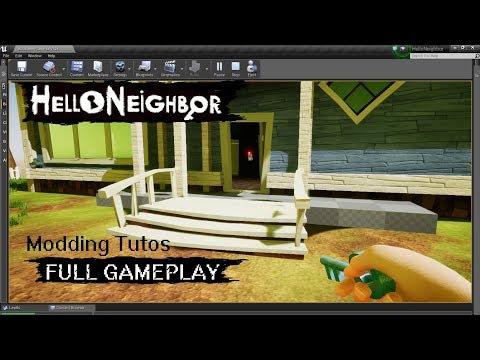 Prototype - FULL GAMEPLAY - Level 1 | Hello Neighbor Modding thumbnail