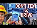 Warning ⚠ Cell phone text & talk while operating a motor vehicle.