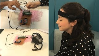 Turning on a fan using brainwaves - the future is now and it's called mind-hacking