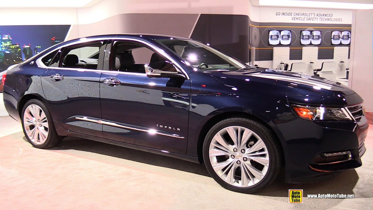 2015 chevrolet impala v6 ltz - exterior and interior walkaround