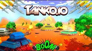 TANKO.IO - EPIC GAMEPLAY!!! - EPIC WIN!!! - NEW .IO GAME (HD)