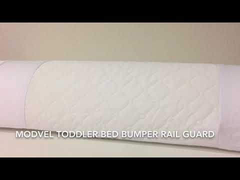 Modvel Toddler Bed Bumper Rail Guard