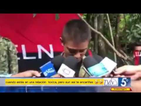 """Soldado secuestrado por el ELN muestra su tristeza tras ser liberado: """"ya me había encariñado con ellos"""""""