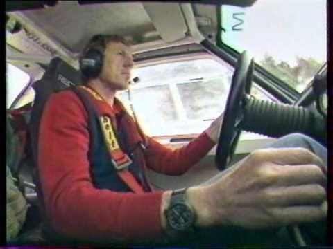 Walter Röhrl-Audi S1 Rallye Monté-carlo 1986