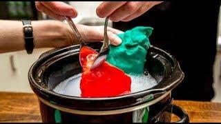 ★ 7 необычных способов использования мультиварки. Варим мыло и пластилин для детей, удаляем краску