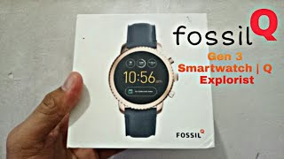 Fossil Q Gen 3 Smartwatch | Q Explorist PART I