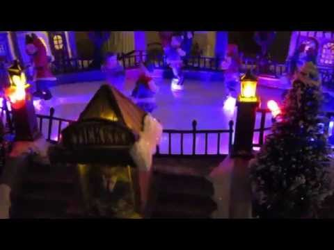 Best indoor Christmas lit & animated decoration (music turns on or off)