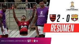 ¡PARTIDAZO, 2 ROJAS Y TRIUNFO DEL MENGAO EN LA SEMIFINAL DE IDA! | Flamengo 2-0 Barcelona | RESUMEN
