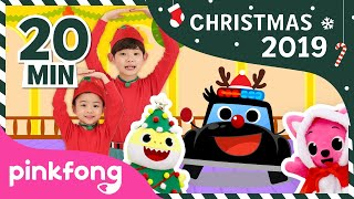 Christmas Acappella and more | Christmas 2019 | +Compilation | Pinkfong Christmas Songs